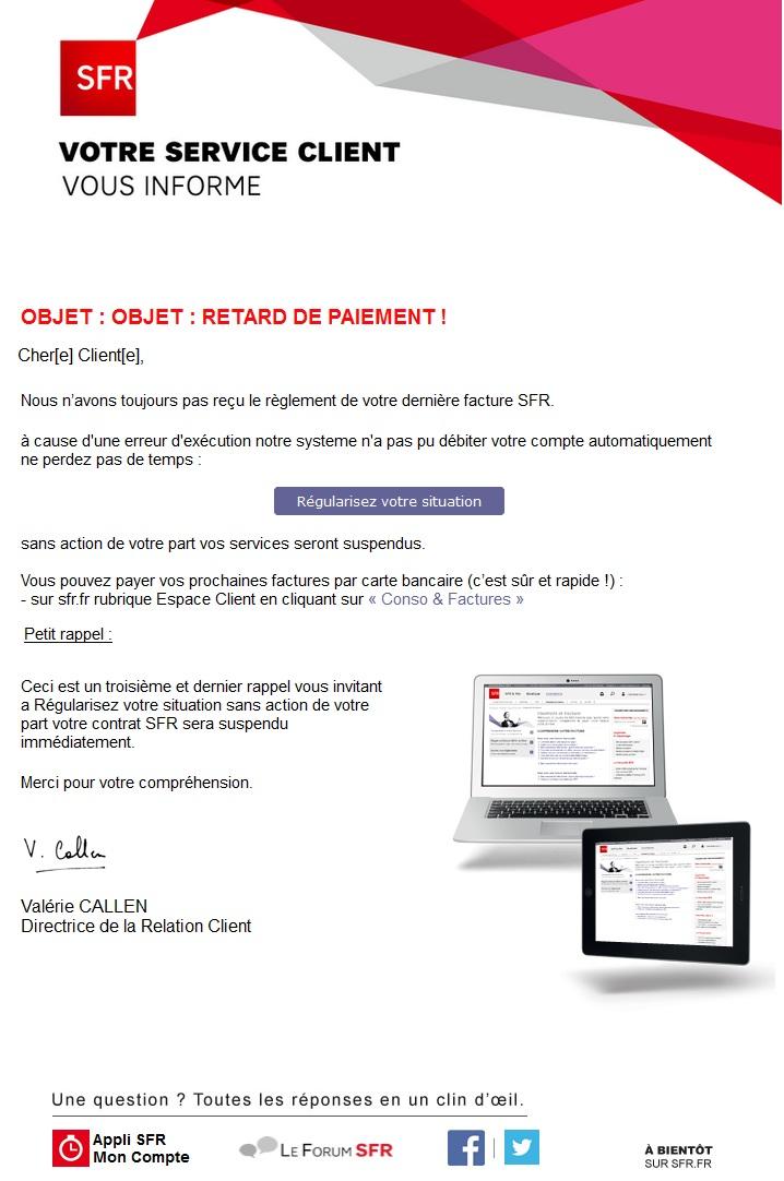 Faux sites sfr en circulation mois de septembre le forum sfr 1595177 - Paiement dans 3 mois cb ...