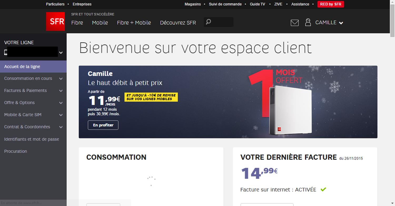 Impossible D Acceder A L Espace Client Et Donc Aux Le Forum Sfr
