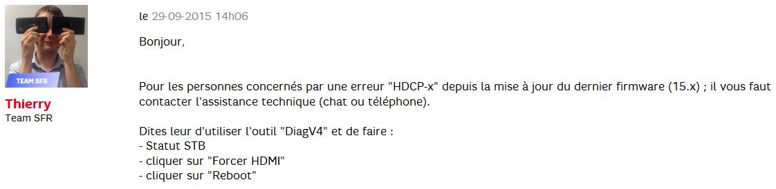 Code erreur hdcp 03 le forum sfr 1667102 - Code erreur s04 03 ...