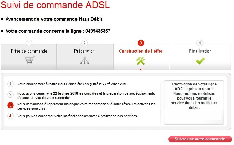 Quelles démarches pour l'activation d'une ligne ADSL ?