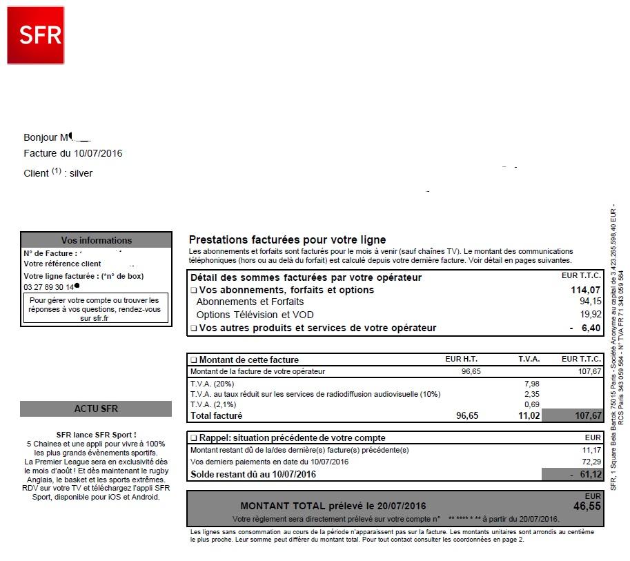 probl me factures le forum sfr 1797426. Black Bedroom Furniture Sets. Home Design Ideas