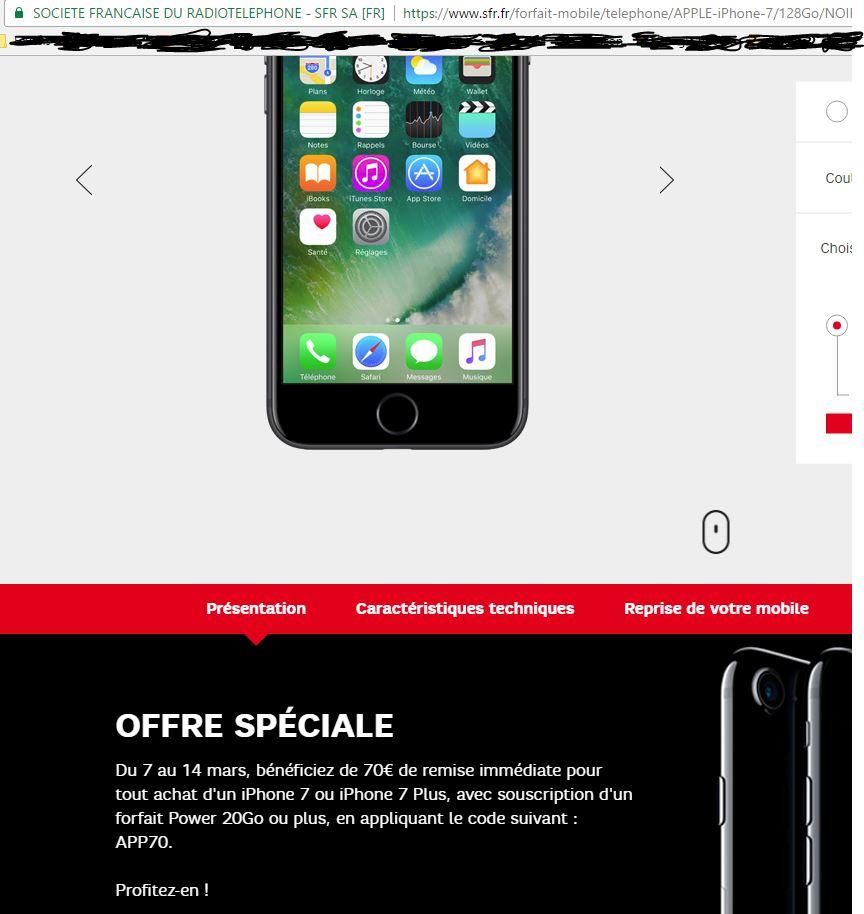 SFR | Téléphone, Forfait Mobile, Internet + Fibre, …