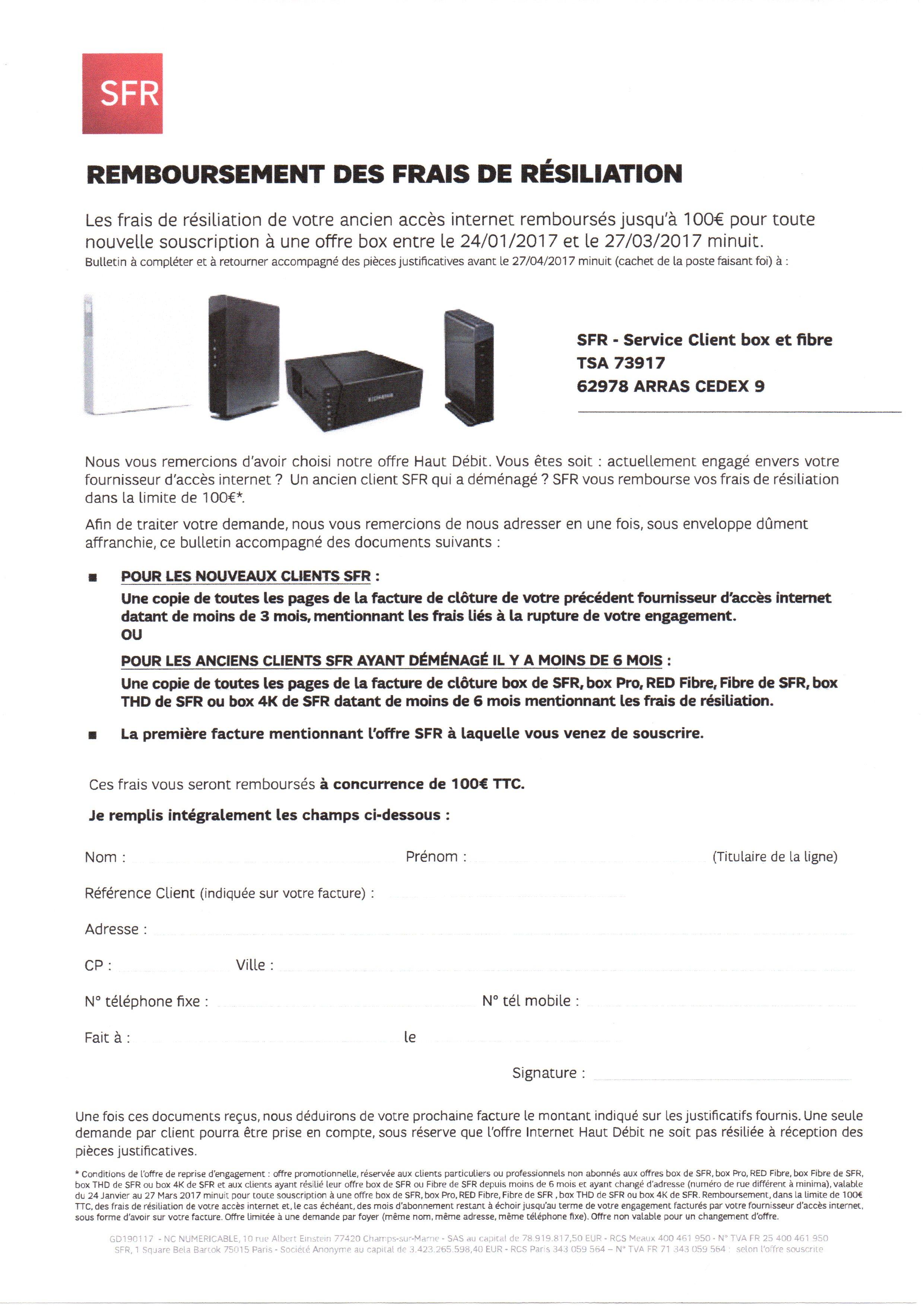 formulaire remboursement frais r siliation jusqu 39 a le forum sfr 1896854. Black Bedroom Furniture Sets. Home Design Ideas