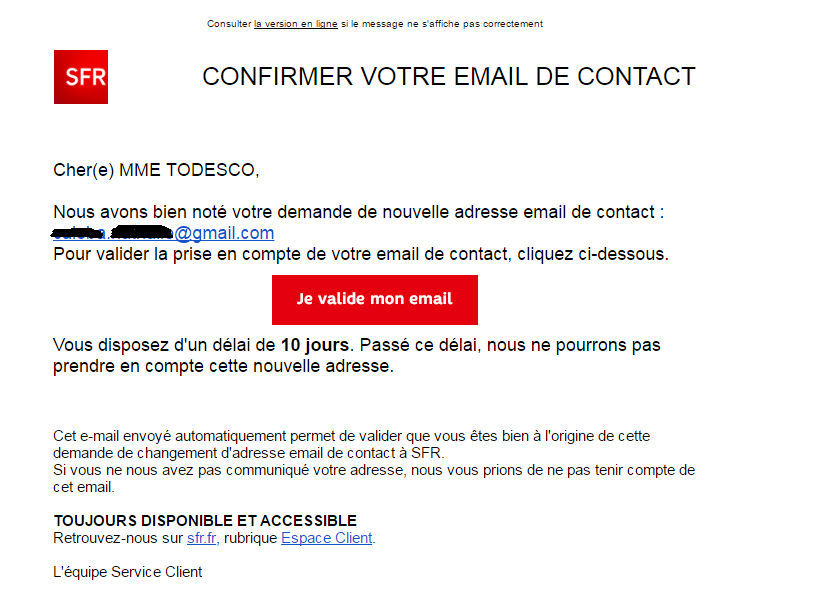 Faux Emails Sfr En Circulation Mars 2017 Le Forum Sfr 1890259