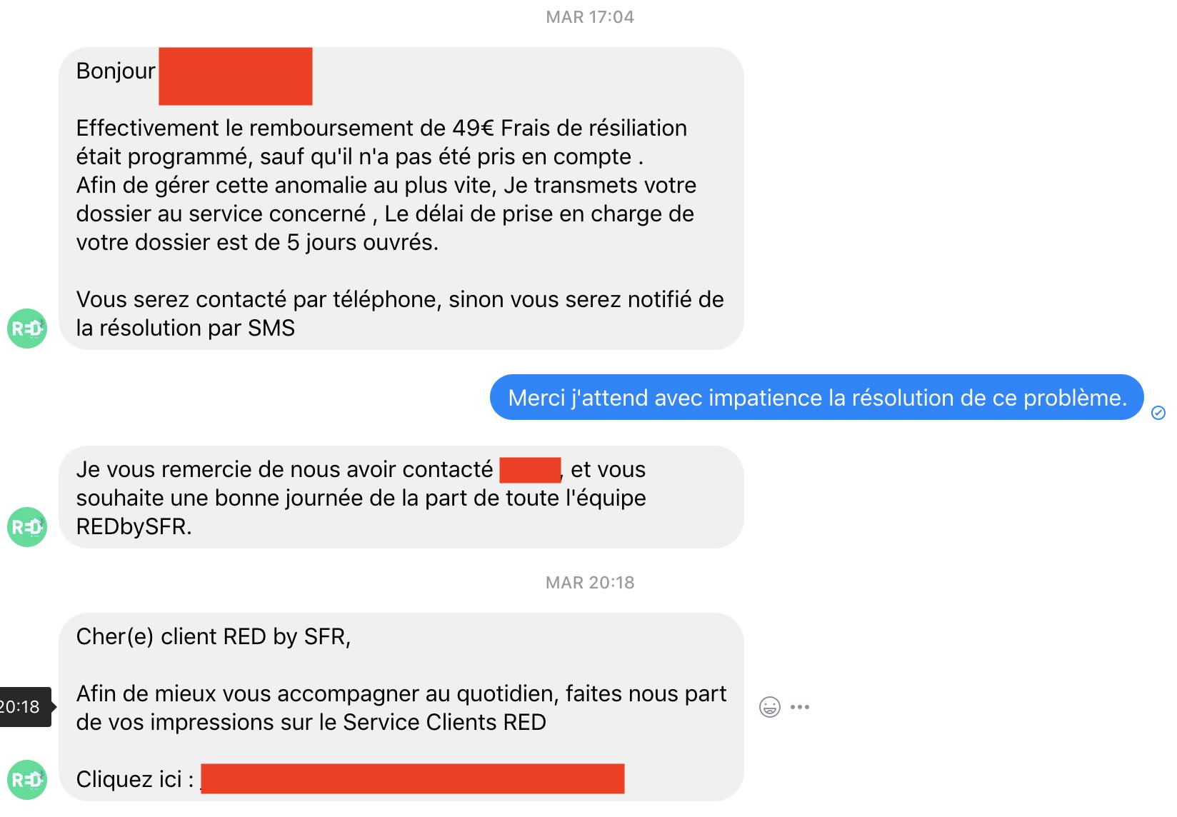 Service Deplorable Ou Escroquerie Le Forum Sfr 2082073