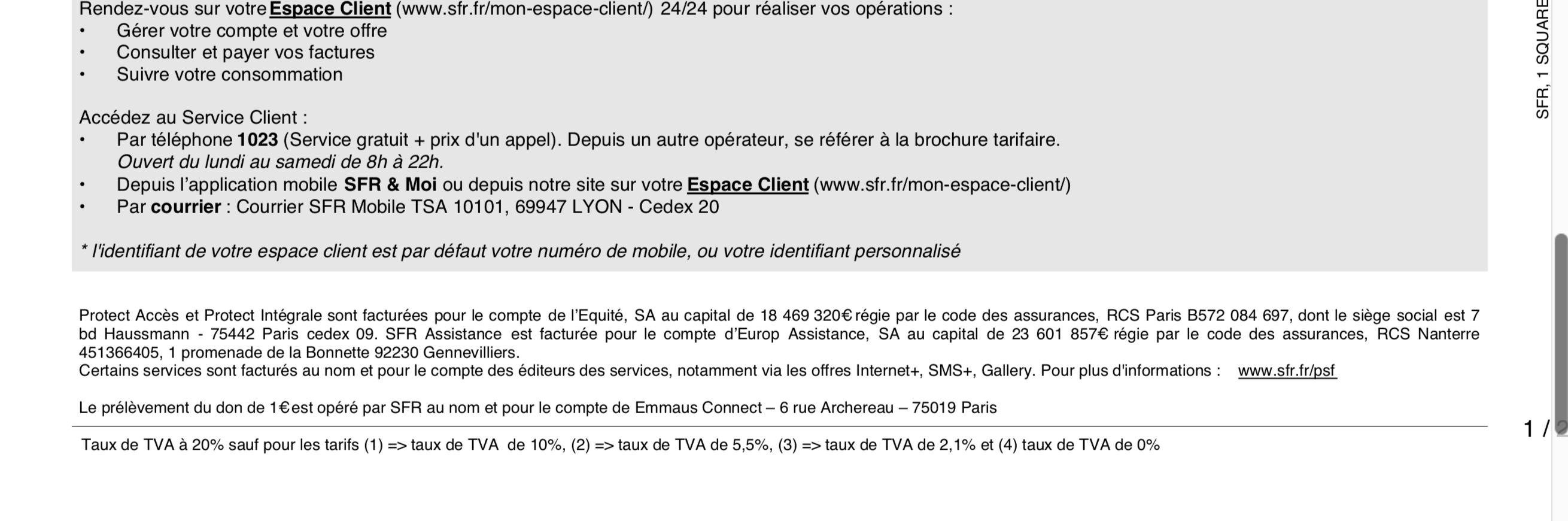 Resolu Adresse Pour Resiliation Sfr Mobile Le Forum Sfr 2003047