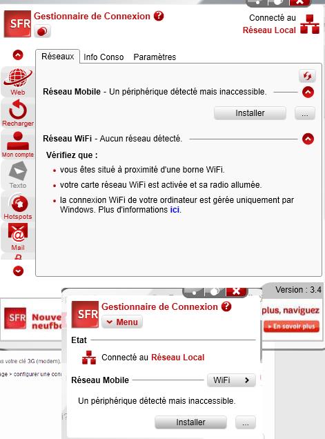 gestionnaire de connexion sfr v3.x