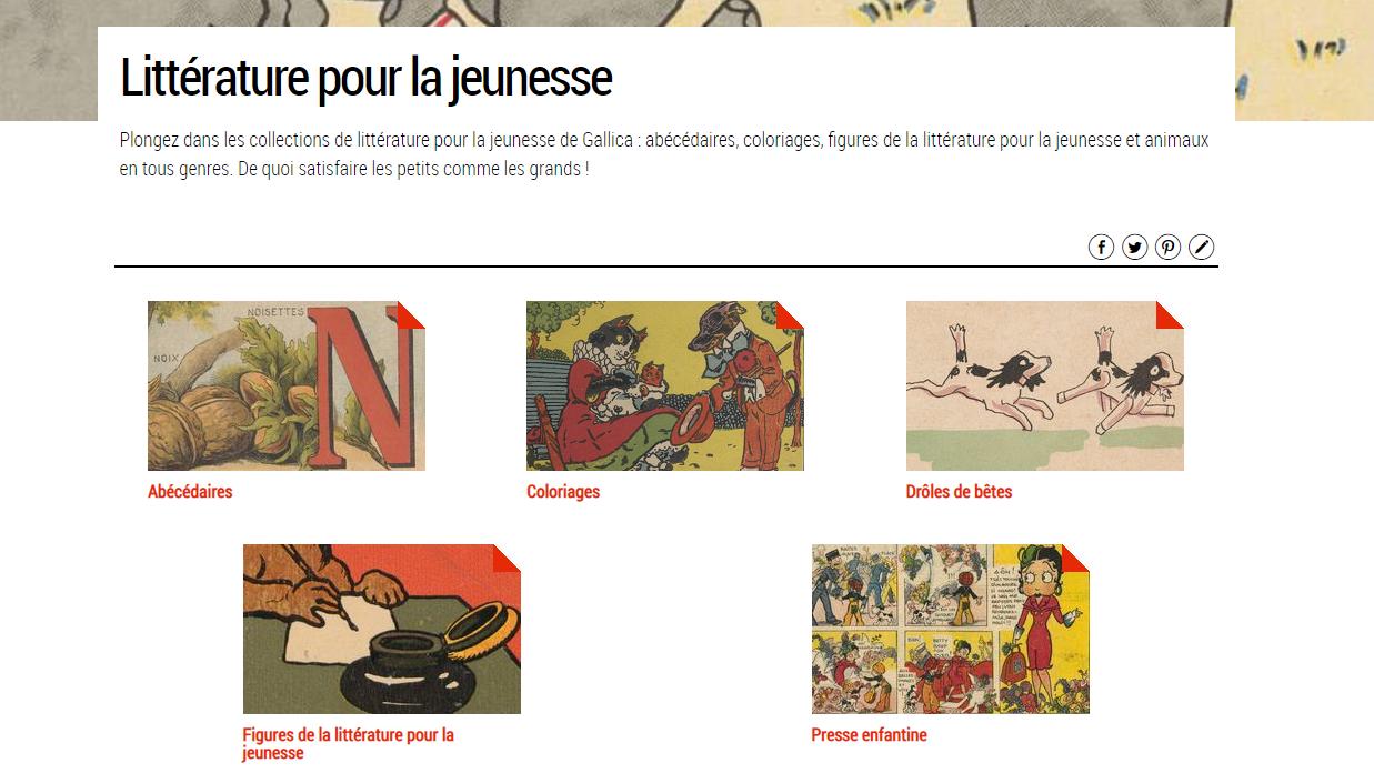 Des ebooks gratuits, rendez-vous sur Gallica