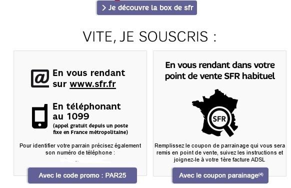 Rendre Box Sfr En Magasin : r solu offre de parrainage adsl neuf box en magasin le ~ Dailycaller-alerts.com Idées de Décoration