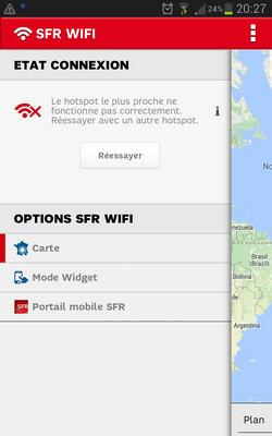 Echec SFR Wifi