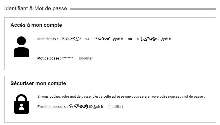 R solu comment supprimer des identifiants d 39 acces mon c le forum sfr 194636 - Les 3 suisses mon compte ...