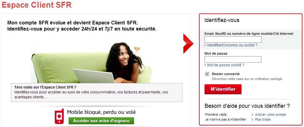 Gros Probleme Acces Espace Client Le Forum Sfr 954583