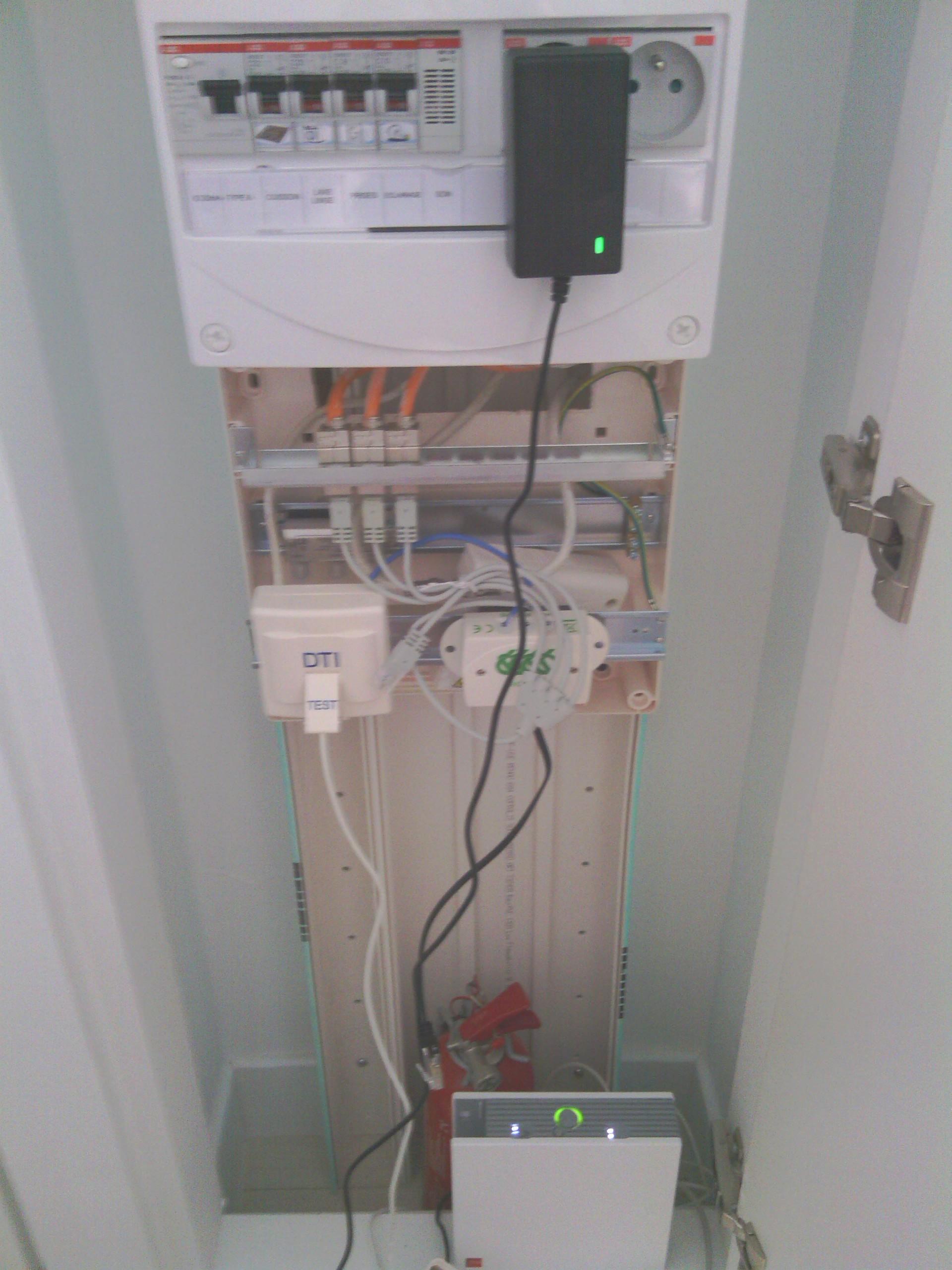 R solu boitier dti probl me de connexion le forum for Boitier exterieur france telecom