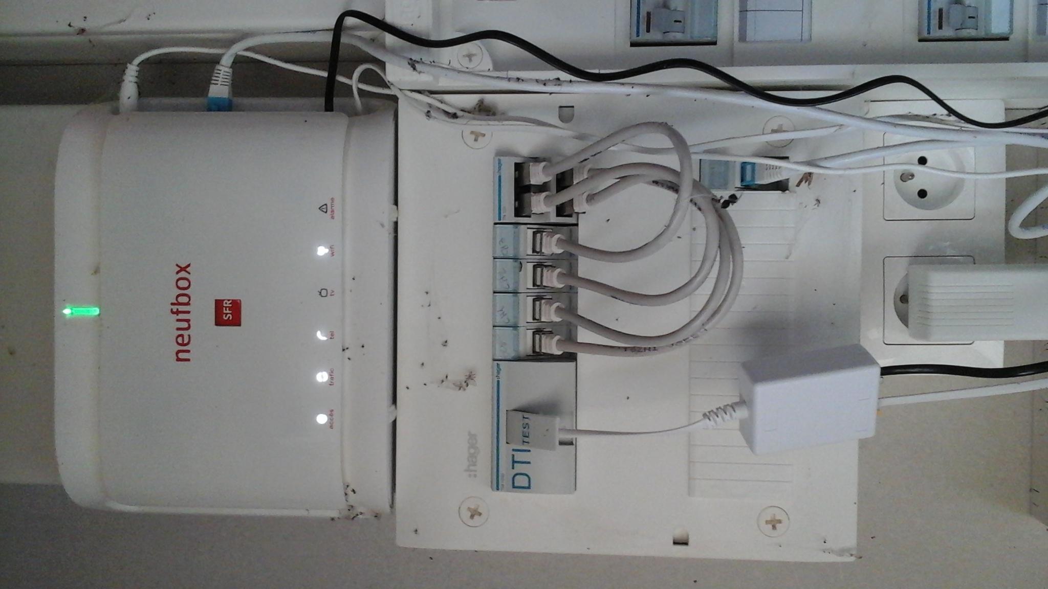 R 233 Solu Comment Installer Ma Box En Rj45 Nouvelle