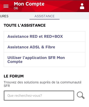 red by sfr mon compte