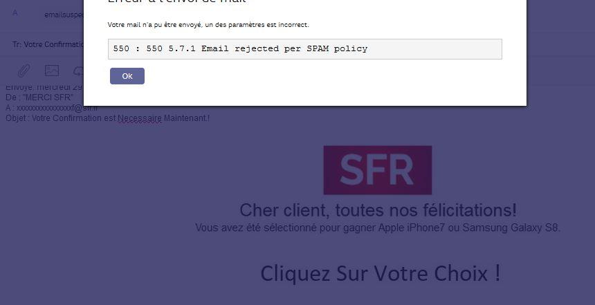 echec envoi_faux mails sfr.JPG